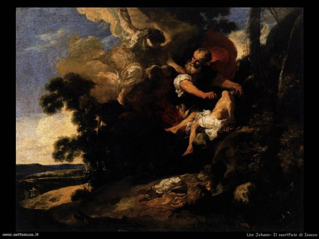 liss johann Il sacrificio di Isacco