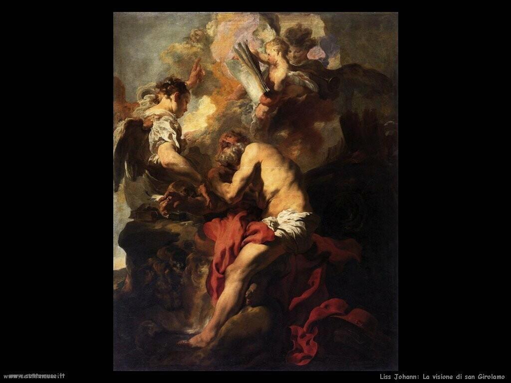 liss johann La visione di san Girolamo