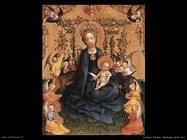 lochner stefan Madonna del mazzo di rose