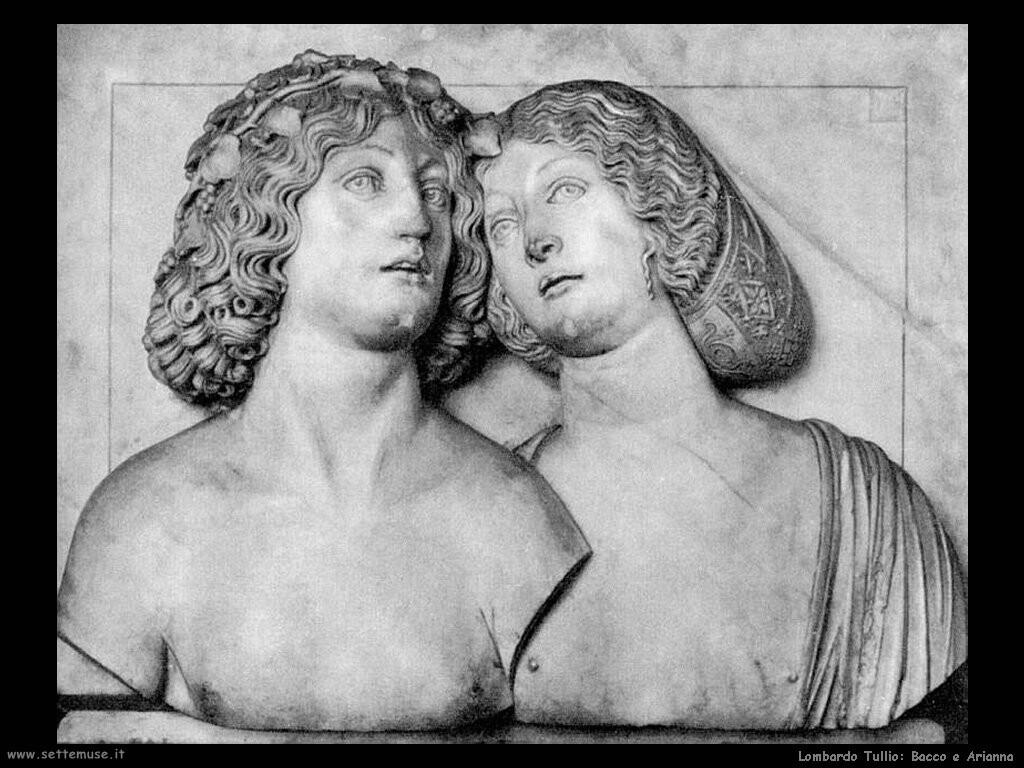 lombardo tullio Bacco e Arianna