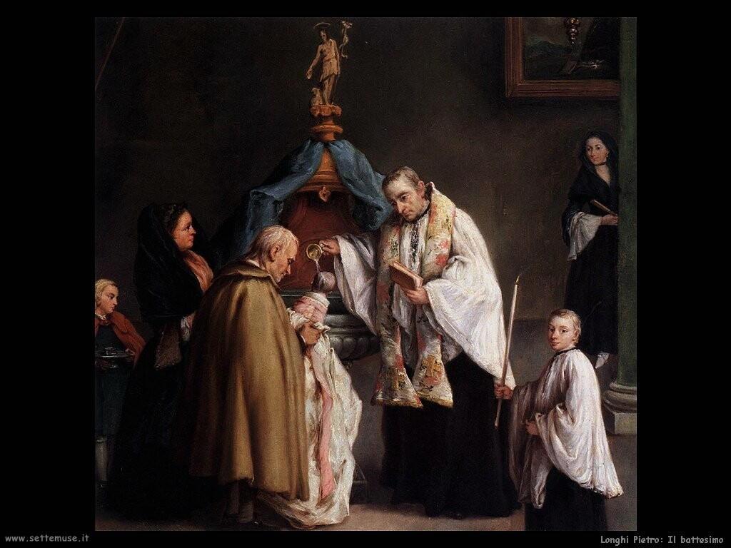 longhi pietro Il battesimo