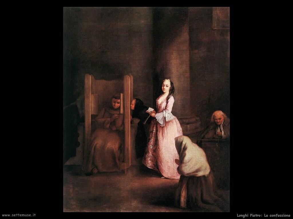 longhi pietro La confessione