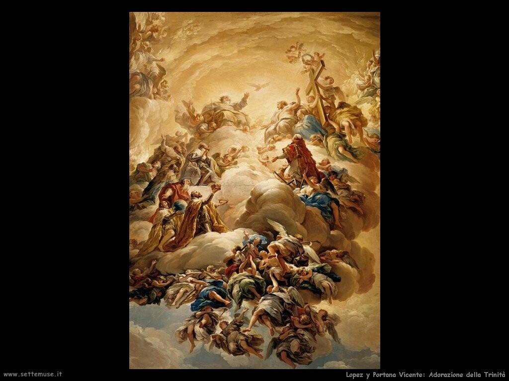 lopez_y_portana_vicente Adorazione della Trinità