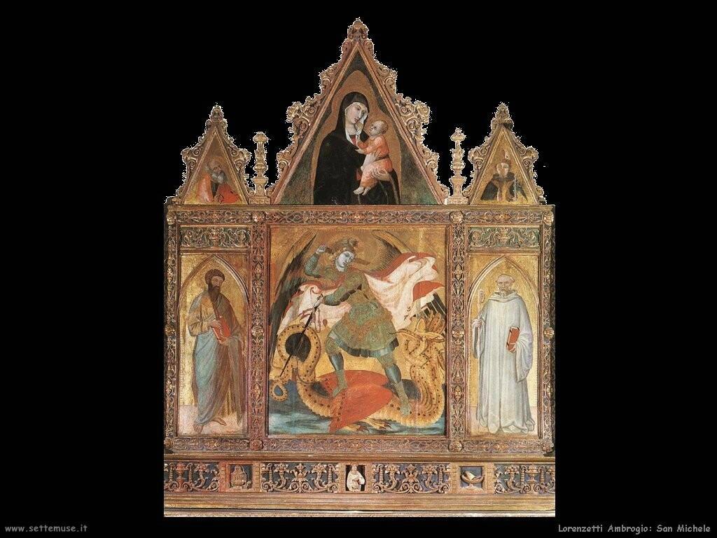 lorenzetti ambrogio San Michele