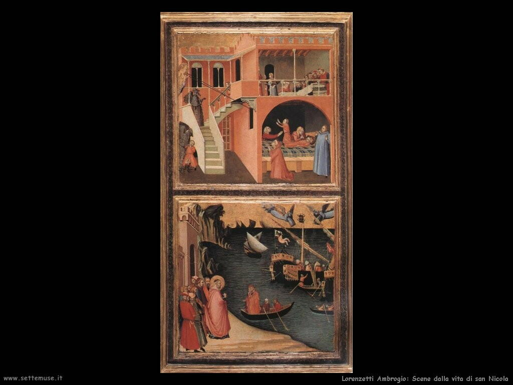 lorenzetti ambrogio Scene dalla vita di san Nicola