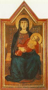 Dipinto di Lorenzetti Ambrogio