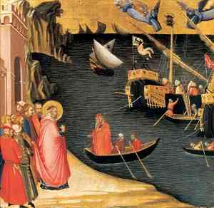 Pittura di Lorenzetti Ambrogio