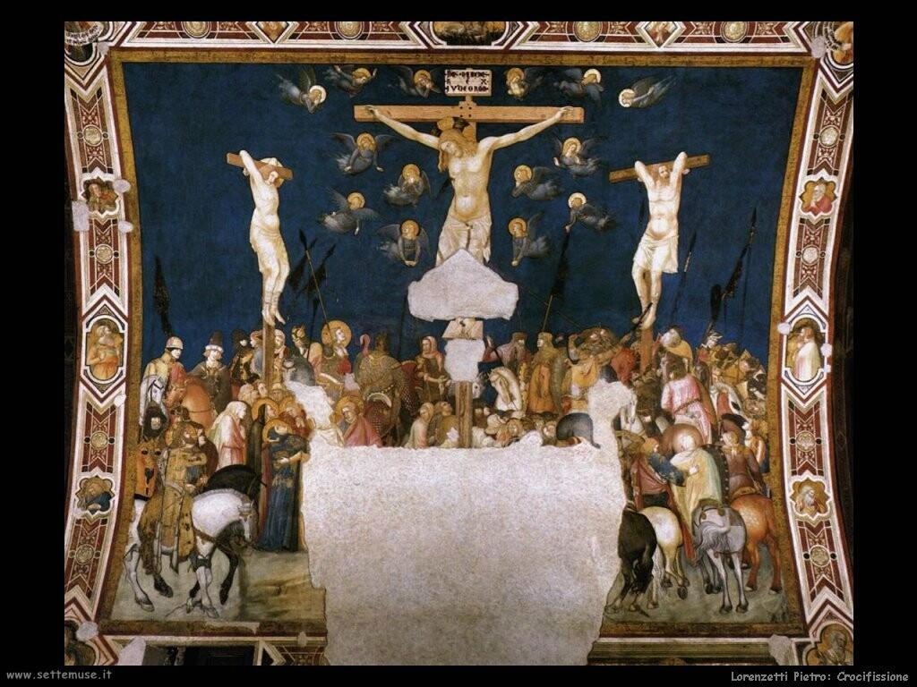 lorenzetti pietro  Crocifissione