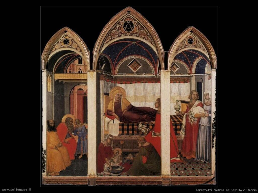 lorenzetti pietro La nascita di Maria