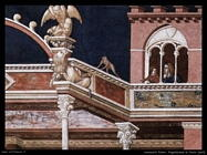 lorenzetti pietro Flagellazione di Cristo (dett)