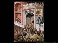 lorenzetti pietro Ingresso di Cristo a Gerusalemme (dett)
