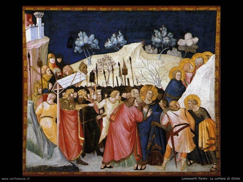 lorenzetti pietro La cattura di Cristo