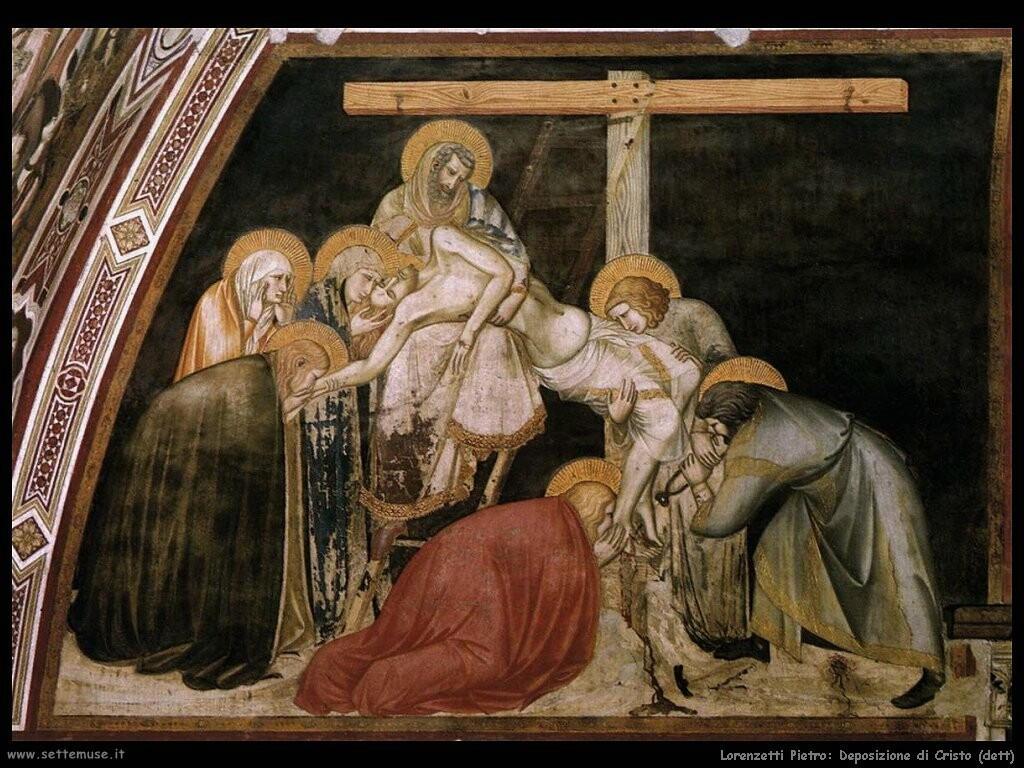 lorenzetti pietro  Deposizione di Cristo dalla tomba
