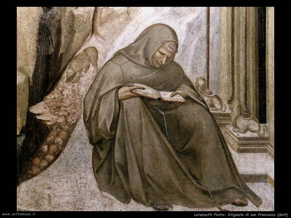 lorenzetti pietro  Stigmate di san Francesco (dett)