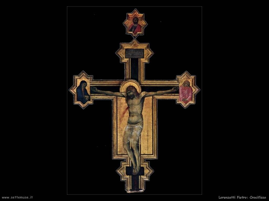 lorenzetti pietro  Crocifisso