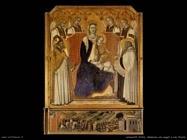 lorenzetti pietro Madonna con angeli tra san Nicola