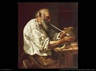 loth_johann_karl  Vecchio che si accende la pipa (1660)