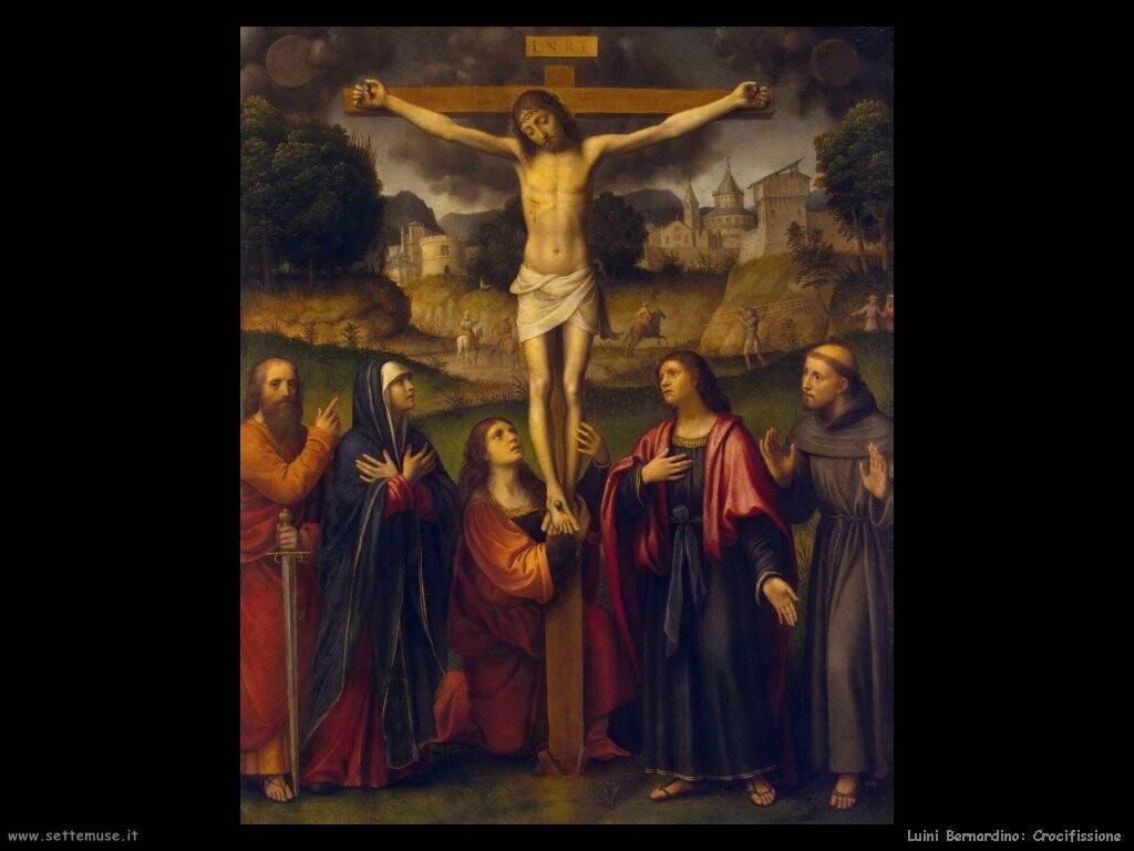 luini bernardino  Crocifissione