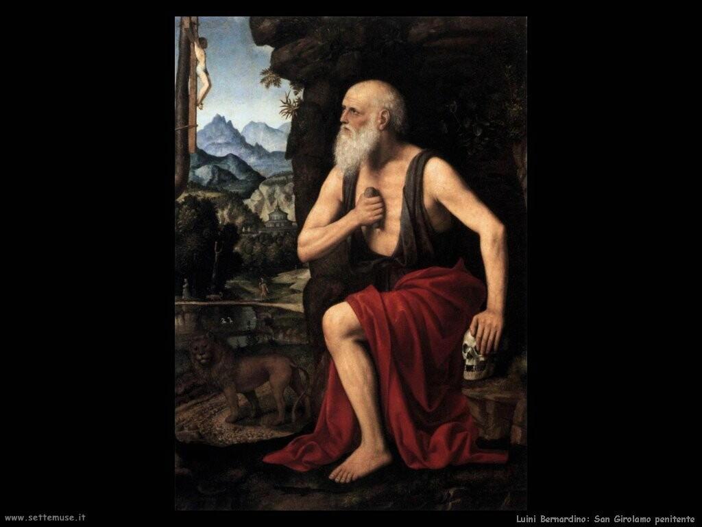 luini bernardino San Girolamo penitente