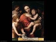 luini_bernardino La Vergine tiene il bambino addormentato