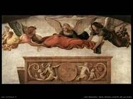 luini bernardino Santa Caterina condotta alla sua tomba