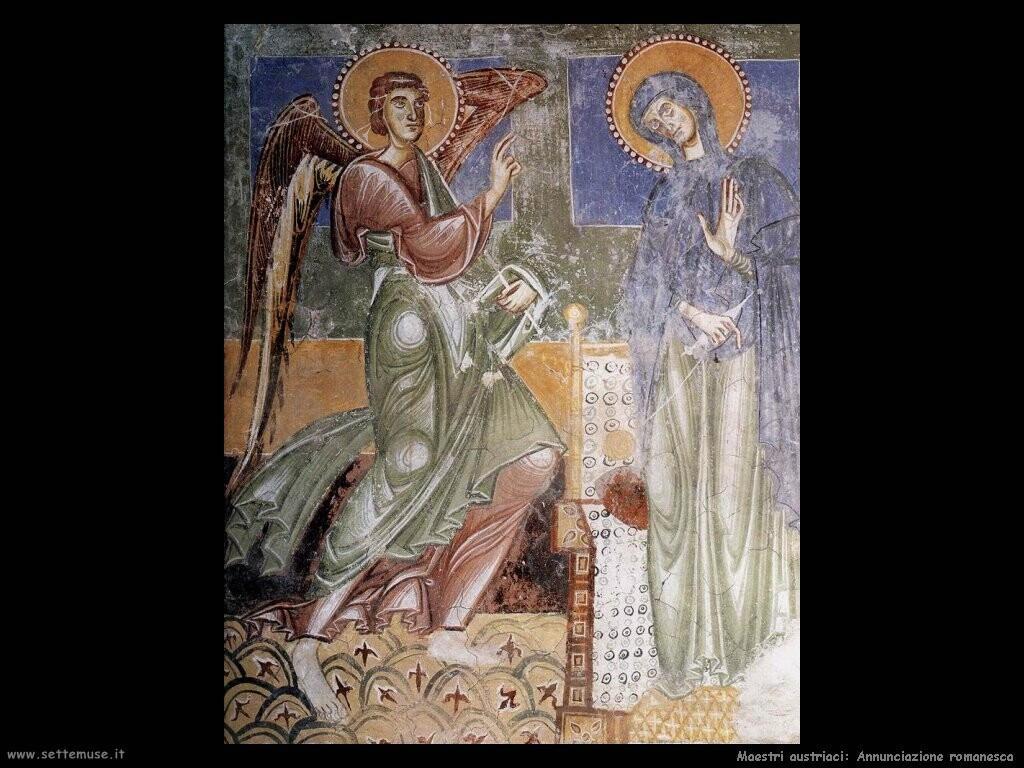 maestri pittura austriaci Annunciazione (romanico)