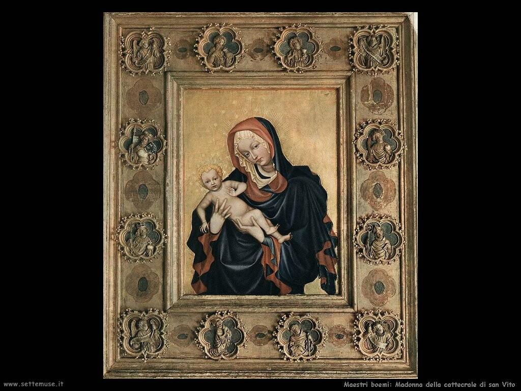 maestri sconosciuti boemi  Madonna