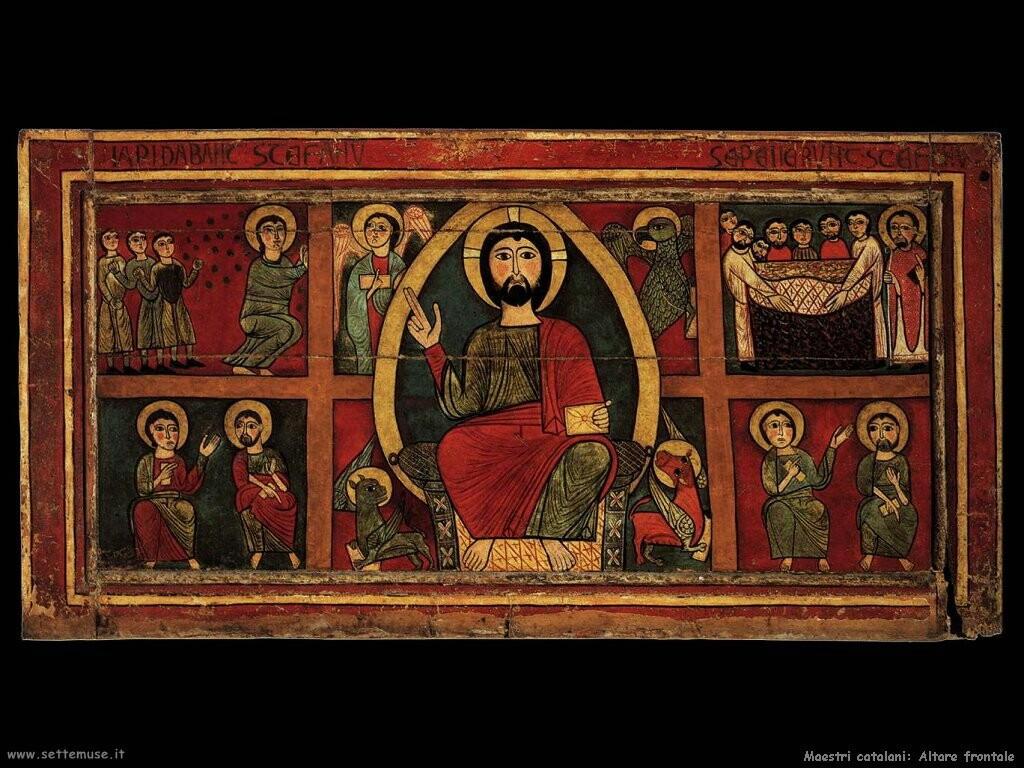 maestri sconosciuti catalani Altare
