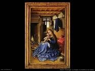 fiamminghi_Vergine con bambino in un interno