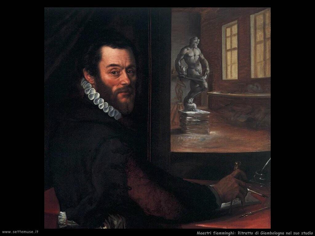 /fiamminghi_Ritratto di Giambologna nel suo studio