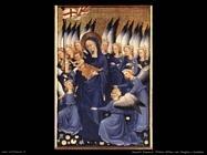 francesi_Dittico Wilton, Vergine con bambino