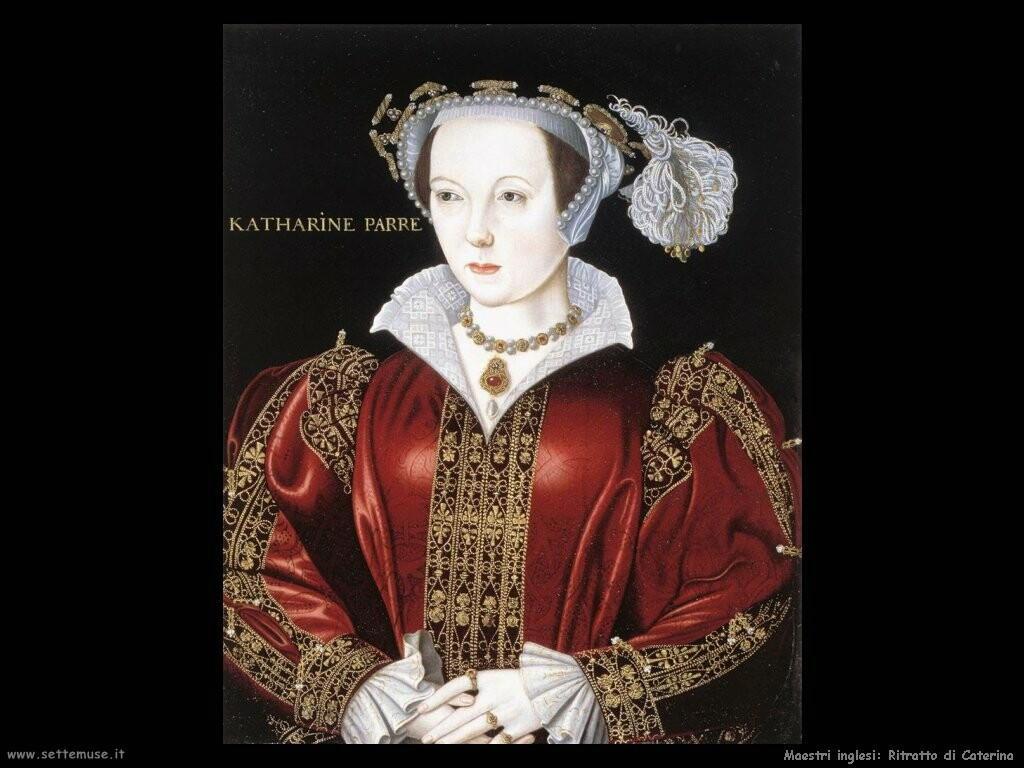 maestri sconosciuti inglesi Ritratto di Caterina