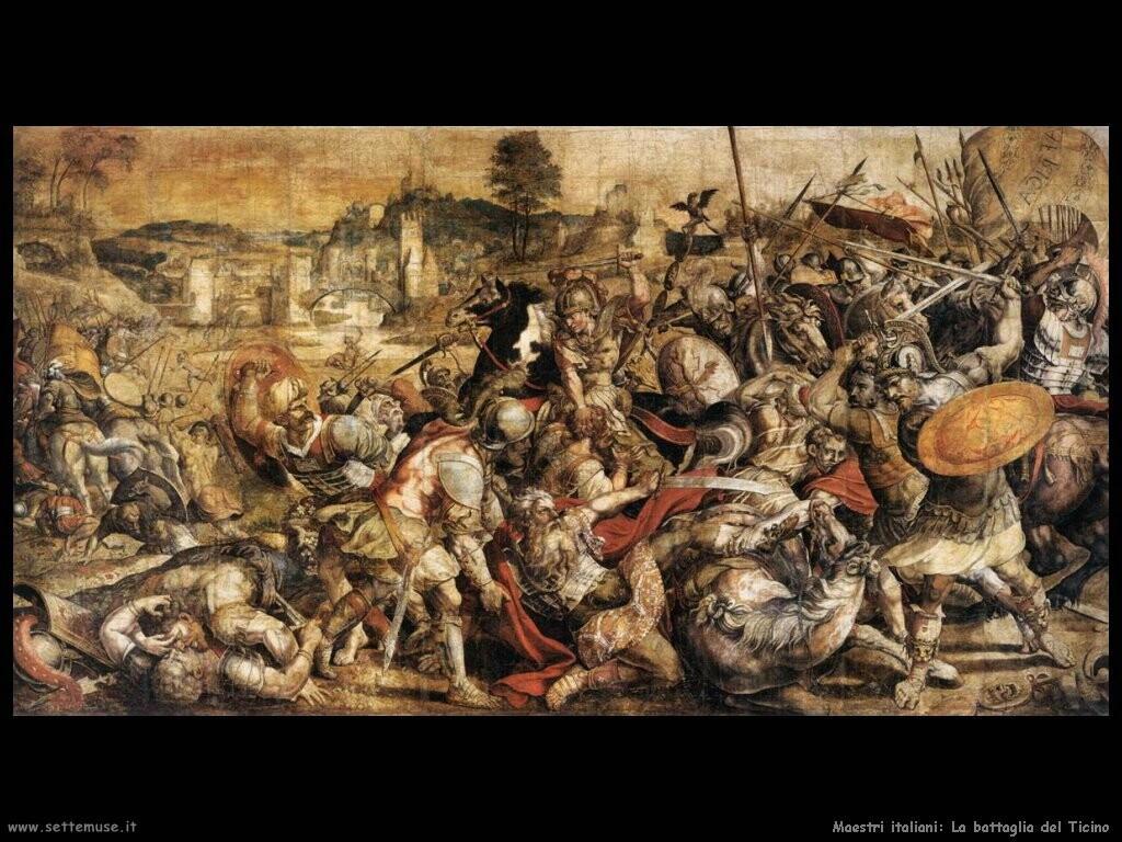 italiani battaglia del Ticino