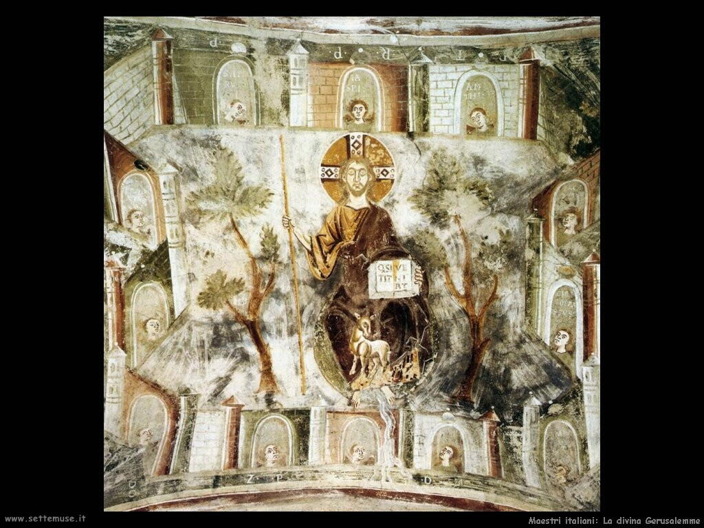 italiani La divina Gerusalemme