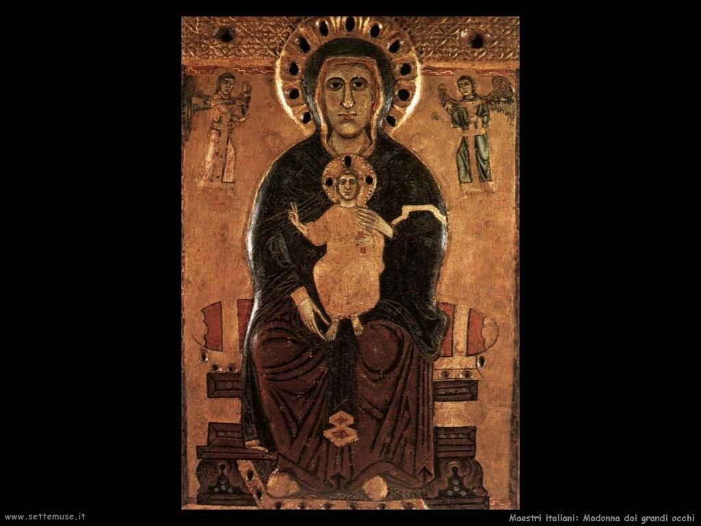 italiani Madonna dagli occhi grandi