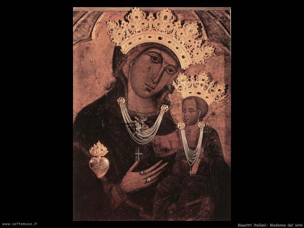 italiani Madonna del voto