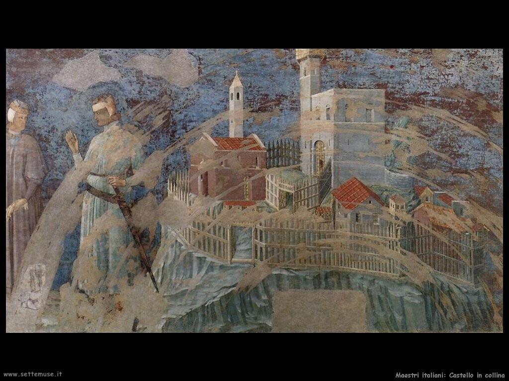 italiani Castello sulla collina