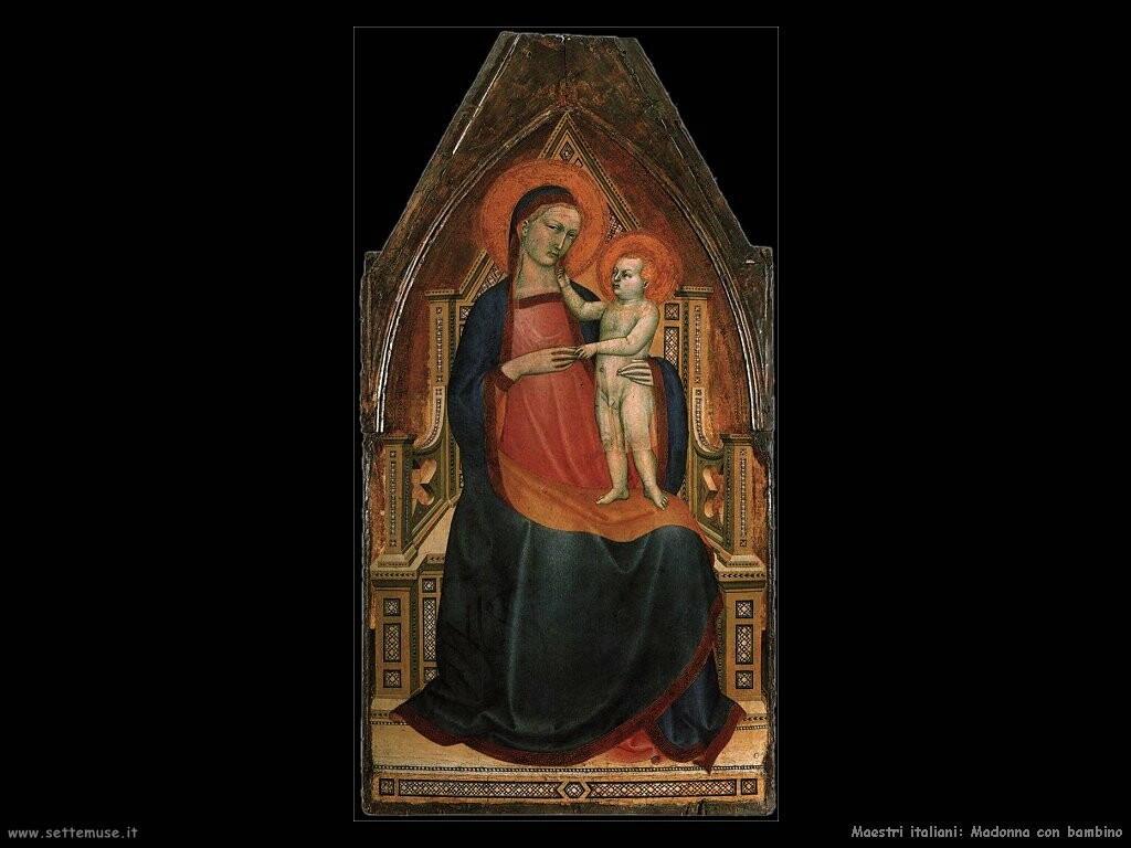 italiani Madonna e bambino