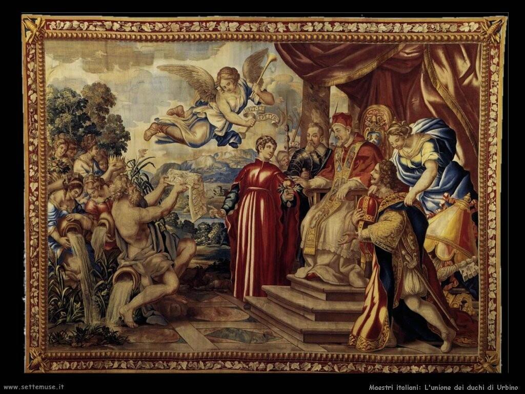 italiani L'unione del duca di Urbino