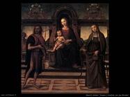 italiani Vergine e bambino con san Giovanni