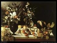 non_identificati_Tavolo con fiori e frutti