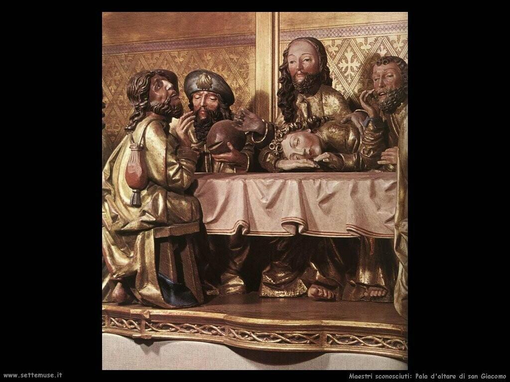 maestri sconosciuti Pala d'altare di San Giacomo