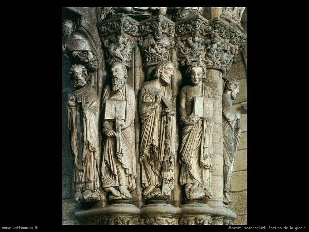 maestri sconosciuti Portico della gloria (dett)