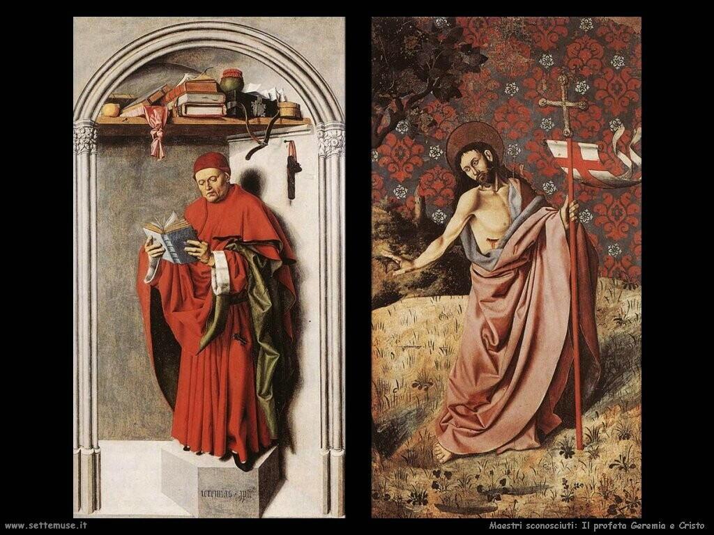 non_identificati Profeta Geremia e Cristo