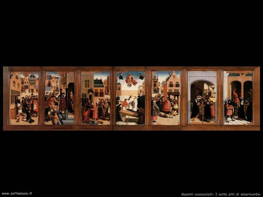 maestri sconosciuti Le sette opere di misericordia