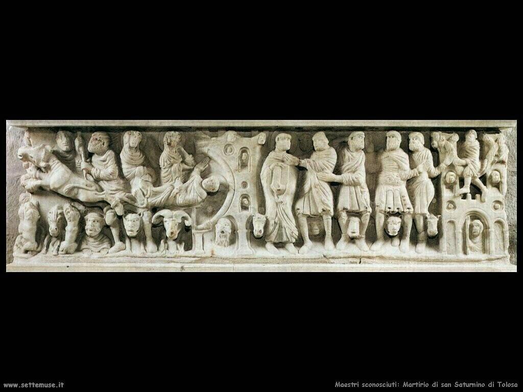 maestri sconosciuti Martirio di san Saturnino di Toulouse
