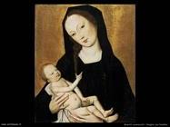 maestri sconosciuti Vergine con bambino