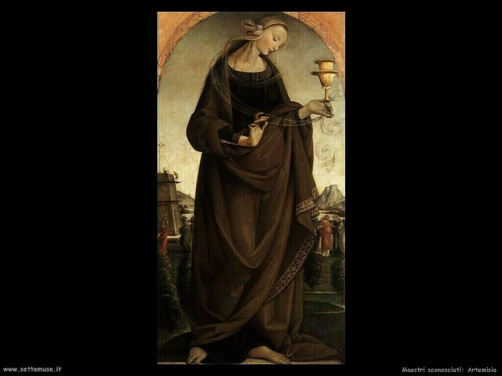 maestri sconosciuti Artemisia