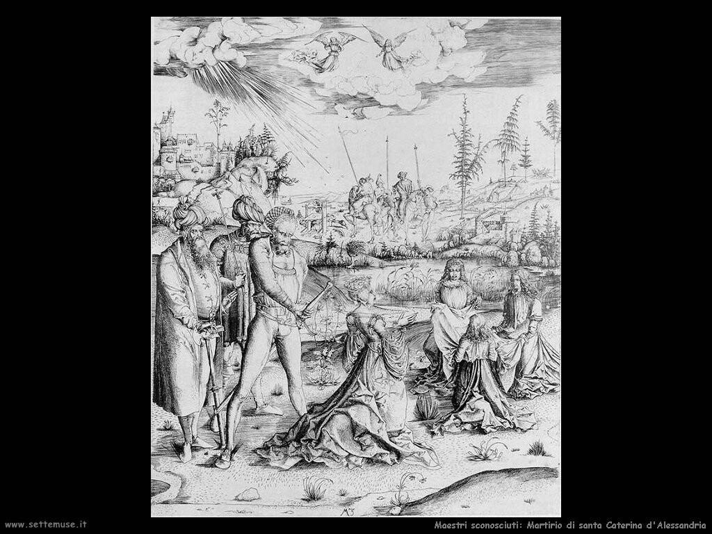 maestri sconosciuti Martirio di santa Caterina d'Alessandria