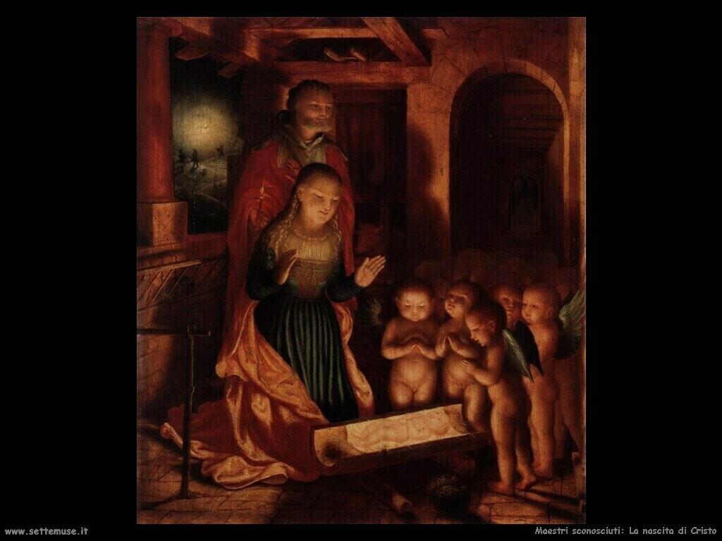maestri sconosciuti Nascita di Gesù